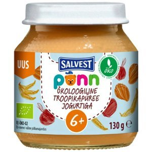 SALVEST Põnn Ovocné pyré s jogurtem od 6.měsíce BIO 130 g