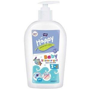 HAPPY Natural Care Mycí gel na tělo a vlasy 300 ml