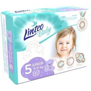 LINTEO Baby Premium Dětské plenky Junior 11-21kg 42 ks