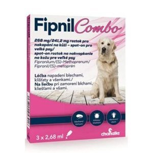 FIPNIL Combo 268/241,2mg L Dog Spot-on 3x2,68ml