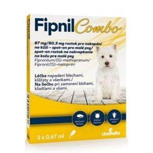 FIPNIL Combo 67/60,3mg S Dog Spot-on 3x0,67ml