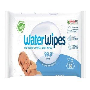 WATERWIPES 100% BIO Odbouratelné ubrousky 60 ks