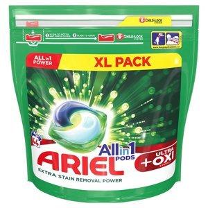 ARIEL Allin1 kapsle Oxi 44 PD, poškozený obal