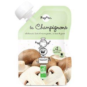 POPOTE Zeleninová kapsička žampiony od 4.měsíce BIO 120 g