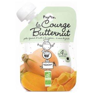 POPOTE Zeleninová kapsička máslová dýně (ořešák) od 4.měsíce BIO 120 g