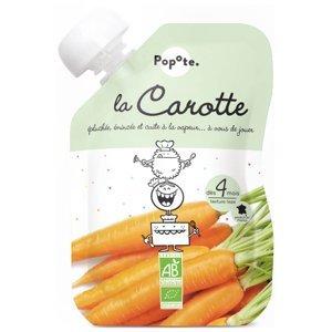 POPOTE Zeleninová kapsička mrkev od 4.měsíce BIO 120 g