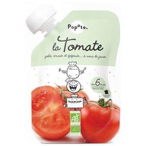 POPOTE Zeleninová kapsička rajče od 6.měsíců BIO 120 g