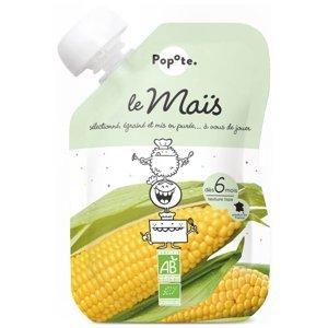 POPOTE Zeleninová kapsička sladká kukuřice od 6.měsíců BIO 120 g