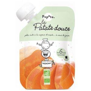POPOTE Zeleninová kapsička sladký brambor od 6.měsíce BIO 120 g