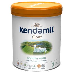 KENDAMIL 3 DHA+ Kozí pokračovací batolecí mléko od 12-36 měsíců 800 g, poškozený obal