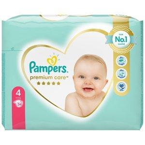 PAMPERS Premium Care Value Pack Minus vel.4 Dětské plenky 9-14kg 34 ks