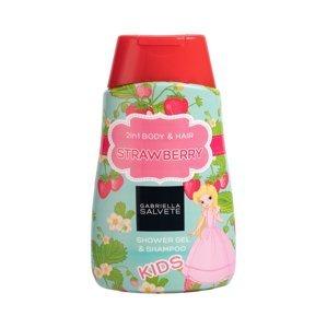 GABRIELLA SALVETE Kids sprchový gel 2v1 jahoda 300 ml
