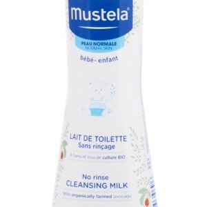 MUSTELA BÉBÉ Tělové mléko No Rinse Cleansing Milk 200 ml