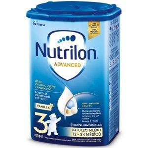 NUTRILON 3 Advanced Pokračovací batolecí mléko od 12-24 měsíců 800 g