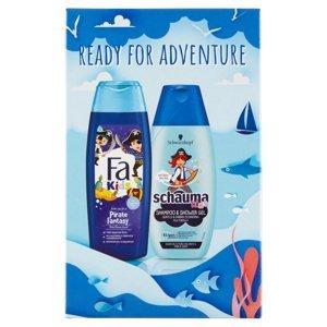 FA + SCHAUMA Dárkové balení sprchový gel a šampon pro chlapce 250 ml + 250 ml