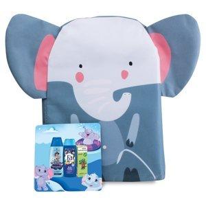 FA, SCHAUMA, VADEMECUM Dárkové balení pro chlapce v batohu slon sprchový gel, šampon, zubní pasta 250 ml + 250 ml + 50 ml