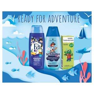 FA, SCHAUMA, VADEMECUM Dárkové balení pro chlapce sprchový gel, šampon, zubní pasta 250 ml + 250 ml + 50 ml