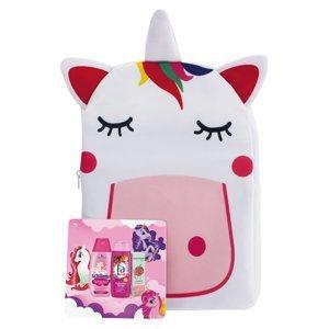 FA, SCHAUMA, VADEMECUM Dárkové balení v batůžku jednorožec pro holčičky sprchový gel, šampon, zubní pasta 250 ml + 250 ml + 50 ml
