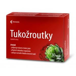 TUKOŽROUTKY 30 kapslí (pro snížení rizika cholesterolu)