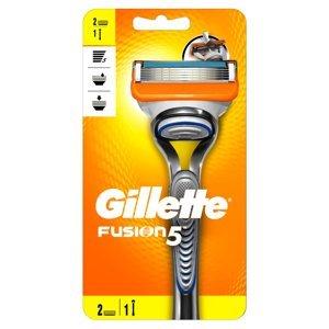 GILLETTE Fusion5 Holicí strojek pro muže + Náhradní hlavice 2 ks