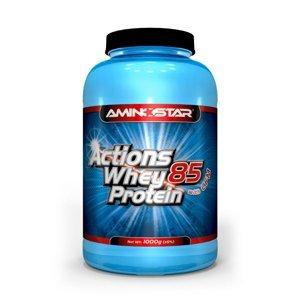 AMINOSTAR Actions Whey Protein 85% 1000 g - Jahoda