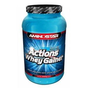 AMINOSTAR Actions Whey Gainer 15% 2250 g - Jahoda